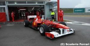 フェラーリ F150thイタリアに2011年型車の車名を変更
