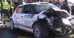 【動画】ロバート・クビサ、ラリーのクラッシュで重傷