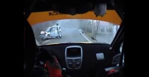【動画】ロバート・クビサの事故現場、後続車からの映像