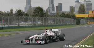 ザウバーの2台、オーストラリアGP失格!