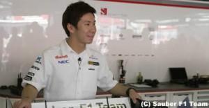 小林可夢偉「被災者をF1日本GPに無料で招待したい」