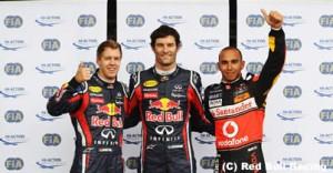 F1第10戦ドイツGP予選の結果