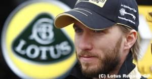 ニック・ハイドフェルドをロータス・ルノーGPチーム代表がまたも批判。高まる解雇説