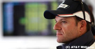 ルーベンス・バリチェロ、F1ハンガリーGPではDRS(可変リアウイング)に期待