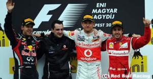 F1第11戦ハンガリーGP決勝の結果