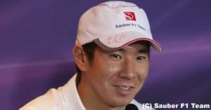 小林可夢偉インタビュー 震災やF1日本GPへの想いを語る