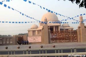 街に点在するインドの寺院