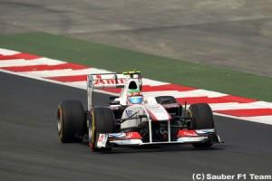 セルジオ・ペレス「ハード側タイヤは機能していない」