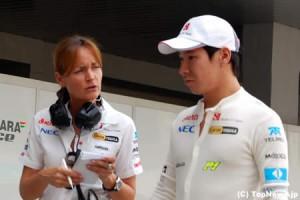 小林可夢偉、予選後に渋い表情=F1インドGP
