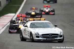 2012年F1、セーフティカーの規則を変更か