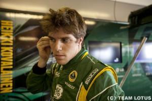ルイス・ラジア、チーム・ロータスの金曜ドライバーに