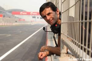 ペドロ・デ・ラ・ロサ、41歳にしてF1復帰。HRTと2年契約