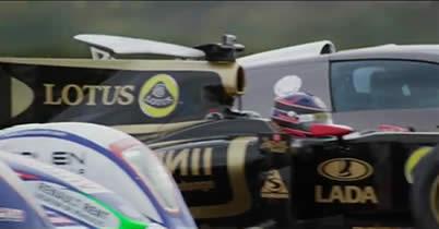 【動画】F1マシン0-300km/hタイムトライアル