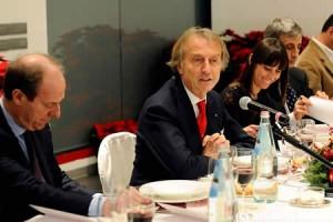 フェラーリ社長、政界進出を否定