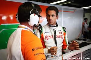 エイドリアン・スーティル、フェラーリ移籍のうわさを否定